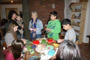 Freizeitaktivitäten und Deutschunterricht für Flüchtlinge