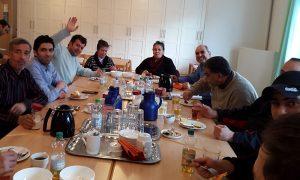 Deutschunterricht und Begnungstreffen für Flüchtlinge